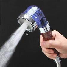 Bath Shower Head High Pressure Boosting Water Saving Filter Balls Beads LJ