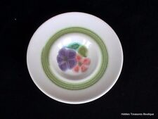 Franciscan Earthenware Floral Saucer Green Band Beautiful