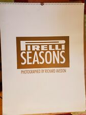 Pirelli Calendar 1995 Seasons by Richard Avedon
