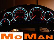 FORD PROBE MK2 glow gauges plasma tachscheiben tacho whie face glow cluster EL