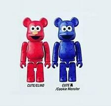 Bearbrick S32 Medicom Cute & Secret 32 be@rbrick 100% Elmo & Cookie Sesame Set