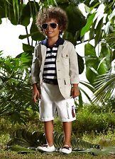 New Authentic Gucci Cargo Bermudas Shorts w/GRG Web, Side Pockets, 10, 281271