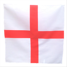 "England Flag 21"" x 21"" (54cm x 54cm) Kerchief Head Scarf Bandana"