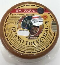 Idiazabal Sheep Cheese 1kg Unpasturised Basque Country Cheese Not Manchego