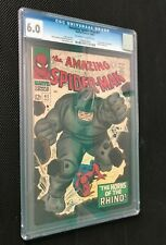 AMAZING SPIDER-MAN #41 (1966) CGC 6.0 1ST APPEARANCE OF THE RHINO