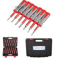 25Pcs Auto Terminal Verdrahtung Crimp Stecker Pin Entfernen Handwerkzeug mit Box
