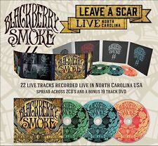 "Blackberry Smoke ""Leave A Scar - Live In North Carolina"" 2CD+DVD Digipak - NEW!"
