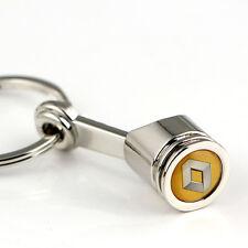 Renault Chrome Engine Piston Keyring Key Chain. Clio Megane Laguna Captur Kadjar