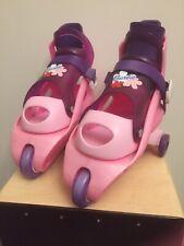 Fisher-Price Barbie Learn 2 Inline Skates Girls Roller Skates Training Pink