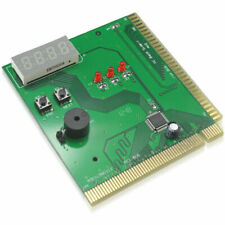 4-Digit PC Analyzer Tester Diagnostic Motherboard Post Test Card for PCI ISA Pou