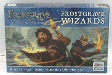 Frostgrave FGVP06 Frostgrave Wizards (8 Multi-Part Hard Plastic Figures) Mages