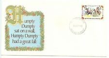1980 FDC,NURSERY RHYMES, CELEBRATE CHRISTMAS