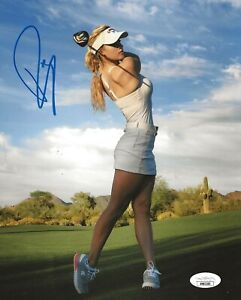 Paige Spiranac LPGA Model signed Hot 8x10 photo autographed 3 JSA