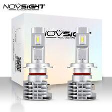 NOVSIGHT 2x H7 LED Headlight 50W 6000LM Car Mini Bulb Conversion Kit Lamps 6000K