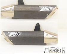 2012 Triumph 1050 Speed Triple ZARD Slip On Exhaust Pipe Mufflers ZTPH 510 ASR