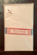Vtg SEALED WW2 era 48star American flag PATRIOTIC STATIONERY UNused rare NOS USA
