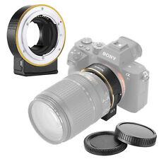 Electrónico Lente AF Adaptador para Nikon f Lense Sony Cámaras con Montura E