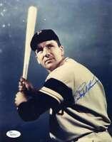 Ralph Kiner Jsa Coa Autograph 8x10 Photo  Hand Signed Authentic