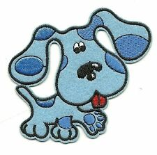 Cute Blues Clues Embroidered Iron On / Sew On Patch