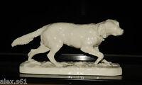 Nymphenburg Porzellan Figur Figuren Jagdhund Hund