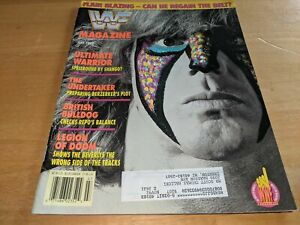 THE ULTIMATE WARRIOR WWF MAGAZINE Wrestling July 1992 Issue The Undertaker+ RARE
