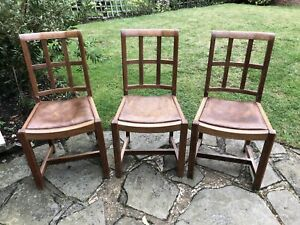 Richard Hornby For Fyne Ladye (Heals) Dining Chairs Vintage Mid Century