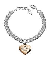 GUESS Bracelet chaîne / Chaîne de main ubb41005 argenté