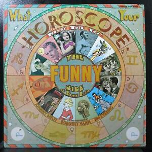 Melfi Vann Evering - What Your Horoscope Never Told You VG+ LP Fontana SR F67566