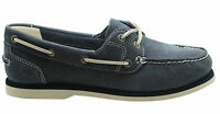 Timberland Earthkeepers Classic Womens Boat Unlined Shoe Navy Blue 3937R T3