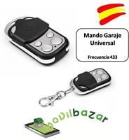 MANDO GARAJE GARAGE UNIVERSAL SUPER DUPLICADOR A DISTANCIA PUERTA 433.92