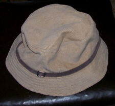 Aeropostale Youth Size Boonie HAT Beige Corduroy w/ brown band