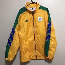 VTG 1998 FIFA World Cup France ADIDAS Brazil Windbreaker Jacket