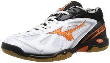 MIZUNO Badminton shoes WAVE SMASH MID 71GA1665 White X orange X black US7