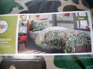 Circo Dino, Basic,Sport Zone,Truck Camouflage Twin Comforter & Sheet Set 5Pieces