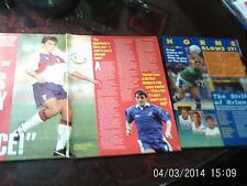 millwall football pictures x3 horne & rae colour A4,s