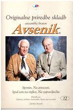 Oberkrainer Besetzung Noten : AVSENIK Originale Bearbeitungen 12 für Quintett