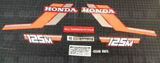 1984 84' honda 125m ATC vintage decals sticker trike kit 8pc graphics ATV