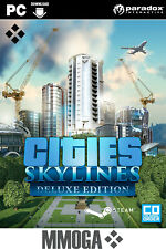 Cities: Skylines Deluxe Edition Key - PC Steam codice digitale online - [EU]
