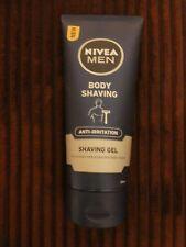 New NIVEA Men Body Shaving Anti-Irritation After Shave Lotion 200ml x1 ~Gift