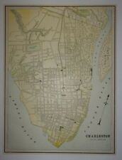 1897 Map of Charleston, South Carolina