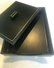 Leather Letter Tray