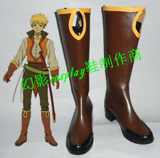 TALES OF THE ABYSS Cecil Halloween Long Cosplay Boots Shoes H016