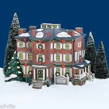 OLD CHELSEA MANOR 54903  RETIRED SNOW VILLAGE DEPT 56  Included book