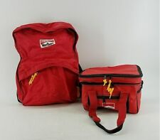Marlboro Backpack Travel Side Bag with Lunch Bag