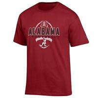 Alabama Crimson Tide Football T shirt NCAA by Champion cardinal red