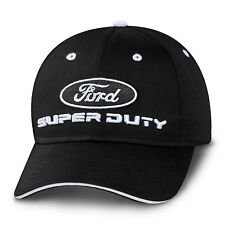 Ford Oval Super Duty Black White Sandwich Brim Cotton/Polyester Hat