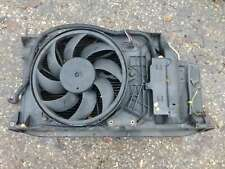 PEUGEOT 206 SW 2002-2006 1.4 PETROL RADIATOR FAN AND AIR CON RADIATOR