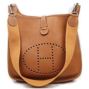 Hermes Shoulder Bag  Browns Leather 1902587