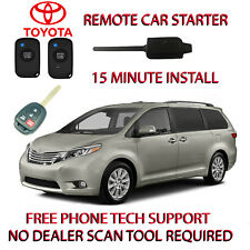 2015 2016 2017 TOYOTA SIENNA REMOTE START-NO WIRE SPLICING-EASIEST INSTALL!