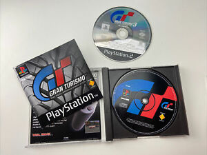 GRAN TURISMO - SONY PLAYSTATION ONE PS1 GAME - GRAN TURISMO 3 PS2
